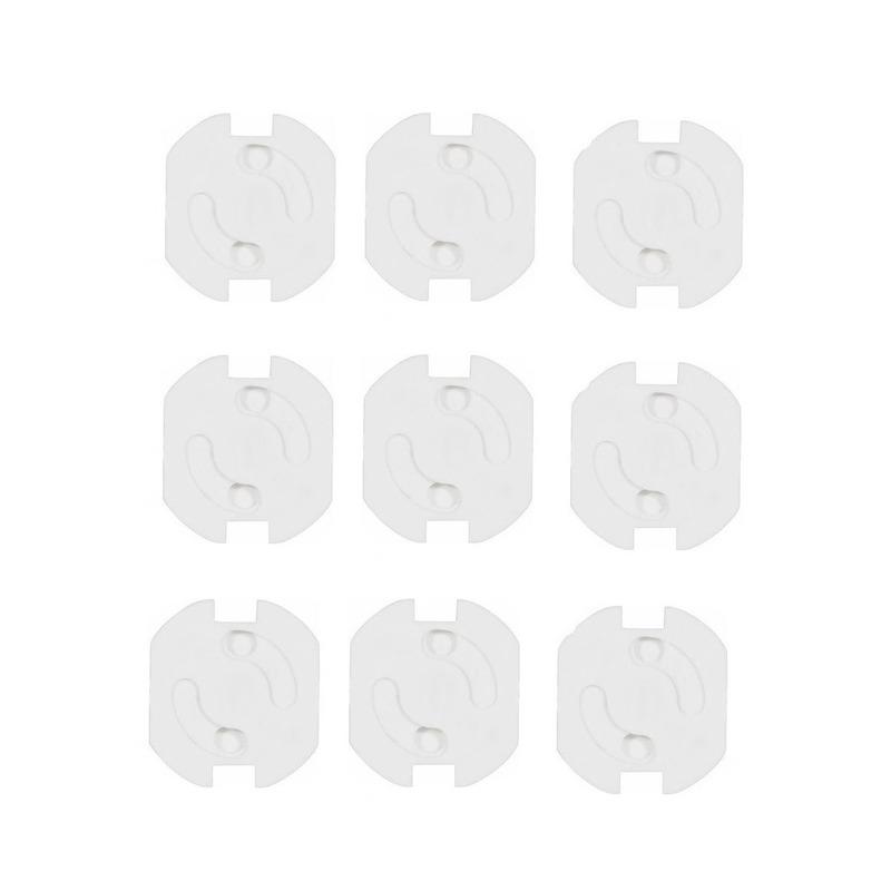 Stopcontactbeveiligers wit 9 stuks